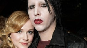 Evan Rachel Wood e Marilyn Manson
