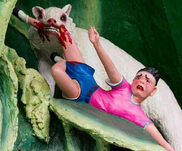 Dez Tribunais do Inferno Haw Par Villa Singapore