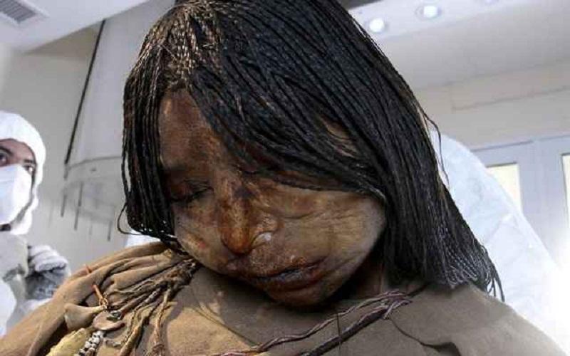 Múmia de crianças incas