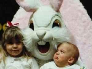 coelhos da páscoa assustadores
