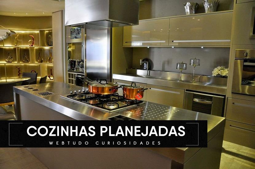 Veja as ideias incríveis de cozinhas planejadas