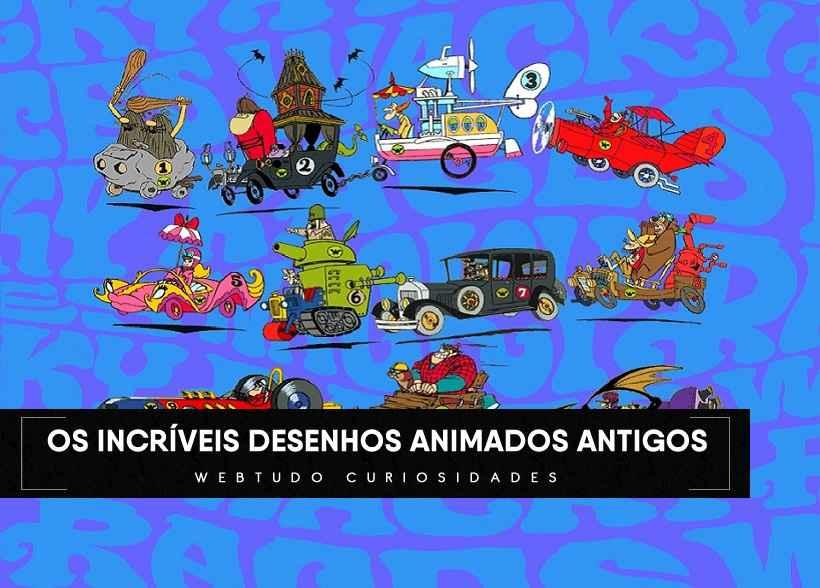 Veja Os Incriveis Desenhos Animados Antigos Webtudo Curiosidades
