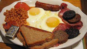 Cafés da manhã na Inglaterra