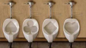 banheiros e mictórios engraçados