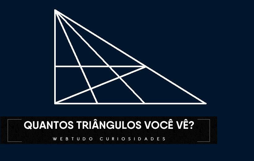 Quantos triângulos você vê nessa imagem?