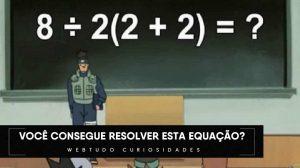 Desafio: Resolva essa equação