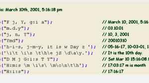 Codigo em PHP do dia da semana e data por extenso