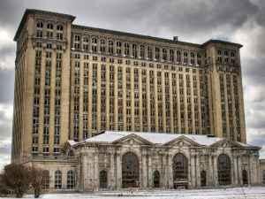 Lugares abandonados Estacao Central de Michigan Detroit
